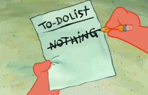 Image result for To-do list nothing